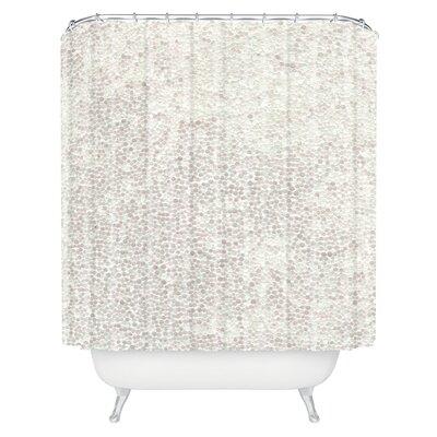 Brayden Studio Kessinger Snowballs Single Shower Curtain