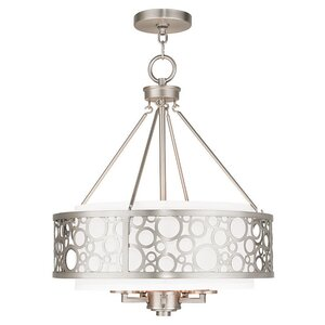 Laufer 5-Light Drum Chandelier