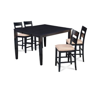 Almodovar 5 Piece Counter Height Extendable Dining Set