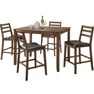Sibley 5 Piece Counter Height Dining Set