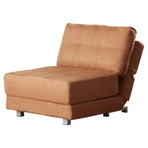 Krystal Microfiber Convertible Chair b..