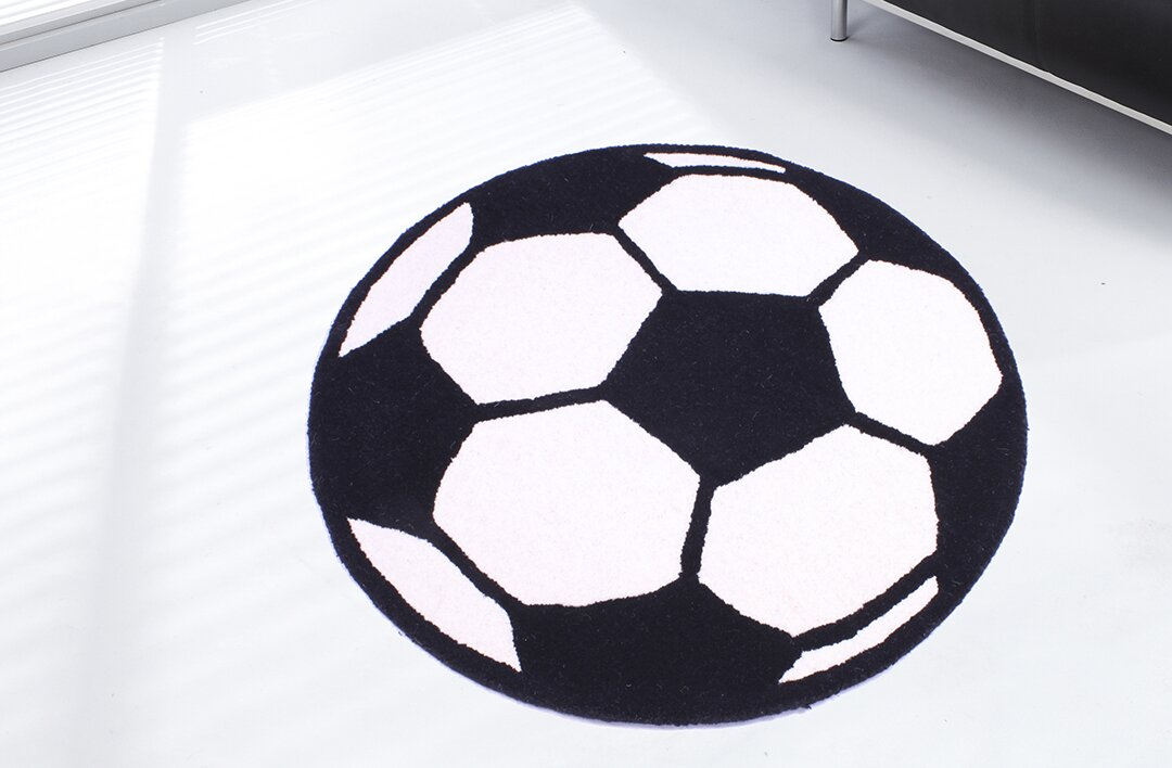 ultimate rug co teppich kids unique collection football bewertungen. Black Bedroom Furniture Sets. Home Design Ideas