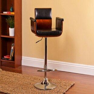 Ozbourn Modern Adjustable Height Swivel Bar Stool