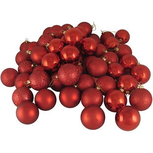 24 39 red christmas ornaments you ll love wayfair