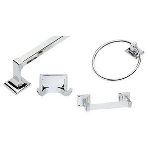 Millbridge 4 Piece Bathroom Hardware Set