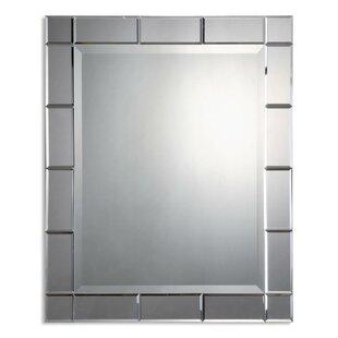 mercury glass mirror. Etherton Rectangle Glass Mirror Mercury