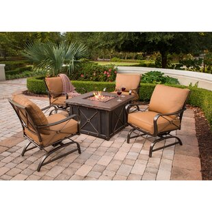 Sweeny 5 Piece Conversation Set With Cushions