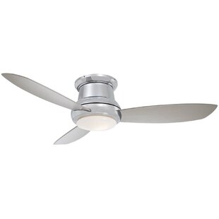 Polished nickel ceiling fans youll love wayfair save to idea board brushed nickel aloadofball Images