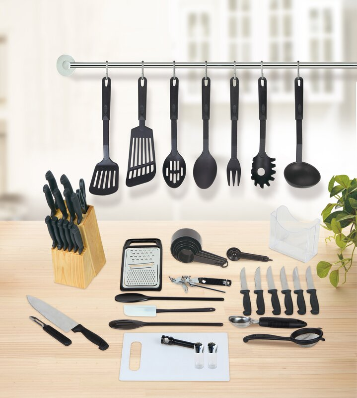 Studio 707 51 Piece Kitchen Essentials Set & Reviews | Wayfair