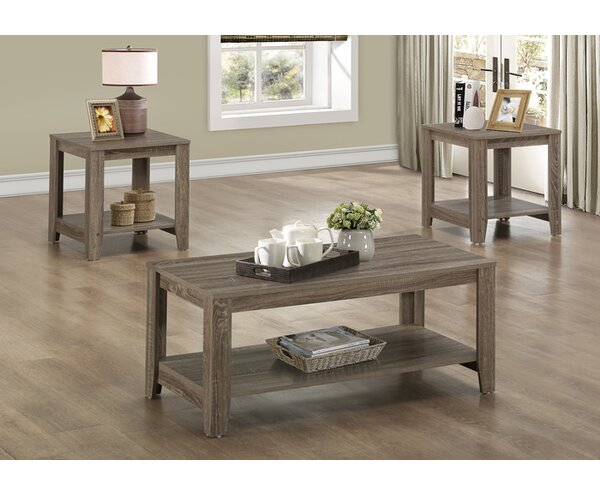 Captivating Loon Peak Jalen 3 Piece Coffee Table Set U0026 Reviews | Wayfair Idea
