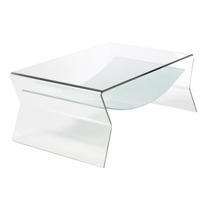 Bent Glass Coffee Table by..