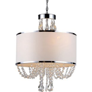 Master bathroom chandelier wayfair gaspard 4 light chandelier aloadofball Image collections