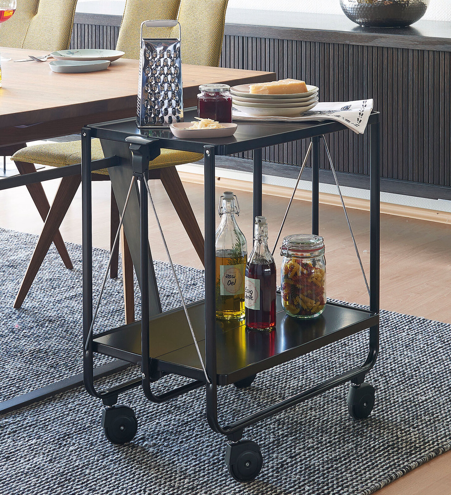 LEIFHEIT Serving Cart | Wayfair