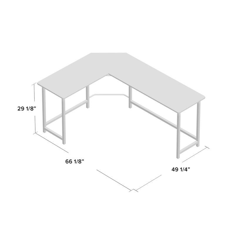 Ohioville Stylish L-Shaped Computer desk