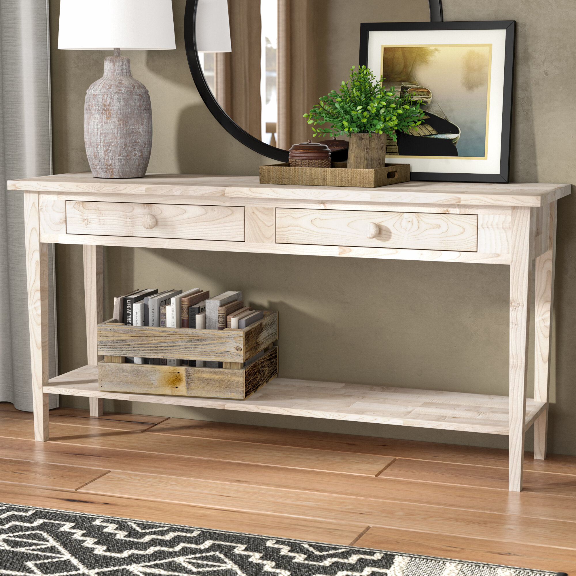 Loon Peak Prattsburgh Console Table & Reviews