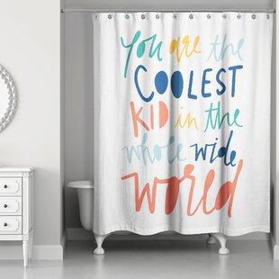 Saul Kid Shower Curtain