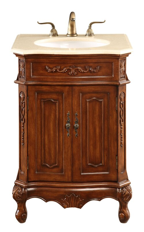 Ambudkar 24  Single Vanity SetSingle Vanities You ll Love   Wayfair. Single Vanity Cabinet With Sink. Home Design Ideas
