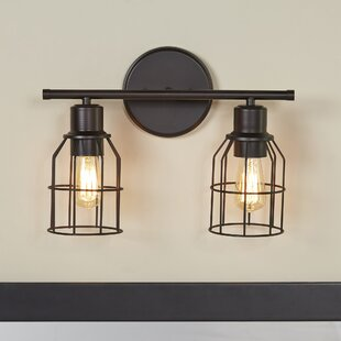 Bathroom Vanity Lighting - 2 light bathroom vanity fixture