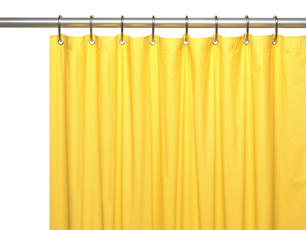 Bouldin Creek Vinyl Shower Curtain Liner & Reviews | Birch Lane