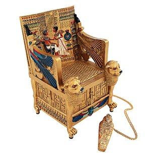 King Tutu0027s Golden Throne Treasure Box
