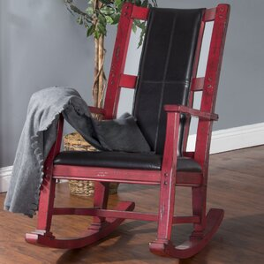 Portage Rocking Chair by Loon Peak
