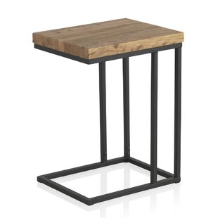 Volane Old Elm Wooden Side Table ...