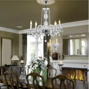 Josue 5 Light Candle Style Chandelier