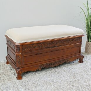 Windsor Hand Carved Storage Bench