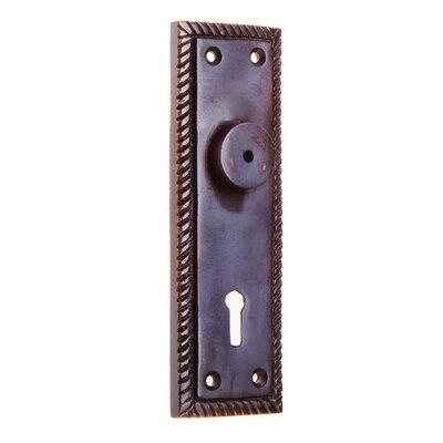 Metal Knob Backplate Darice Color: Silver