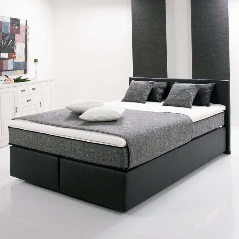 breckle boxspringbett pluto mit topper bewertungen. Black Bedroom Furniture Sets. Home Design Ideas
