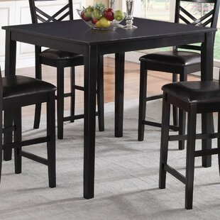 Parmelee Wooden Counter Height Dining Table