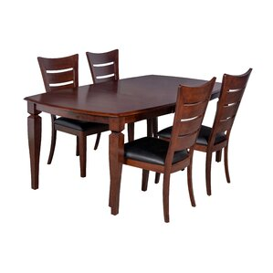 Victoria 5 Piece Dining Set by TTP Furnish