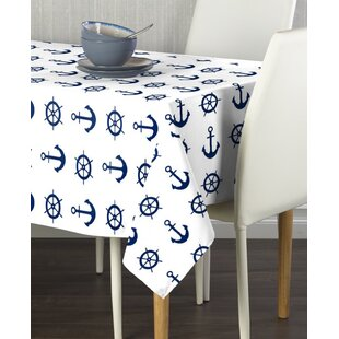 Erler Nautical Anchors And Wheels Milliken Signature Tablecloth