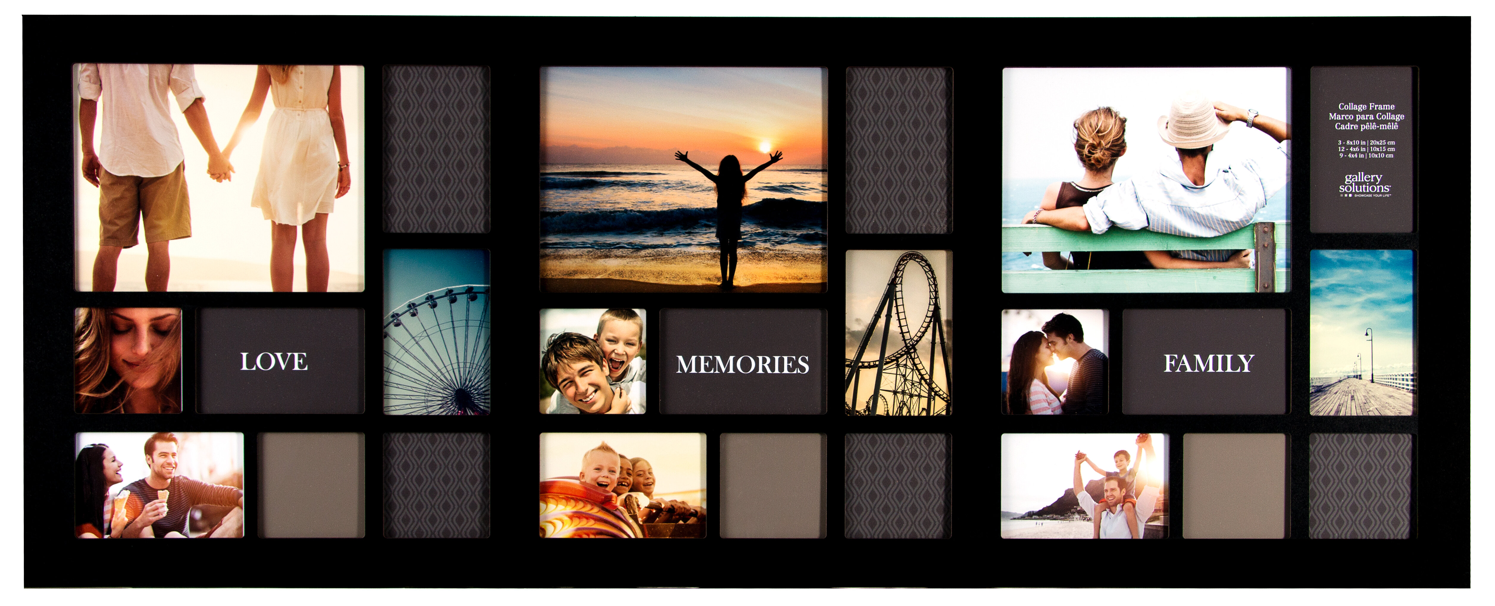 NielsenBainbridge Gallery Solutions 24 Opening Collage Picture Frame ...
