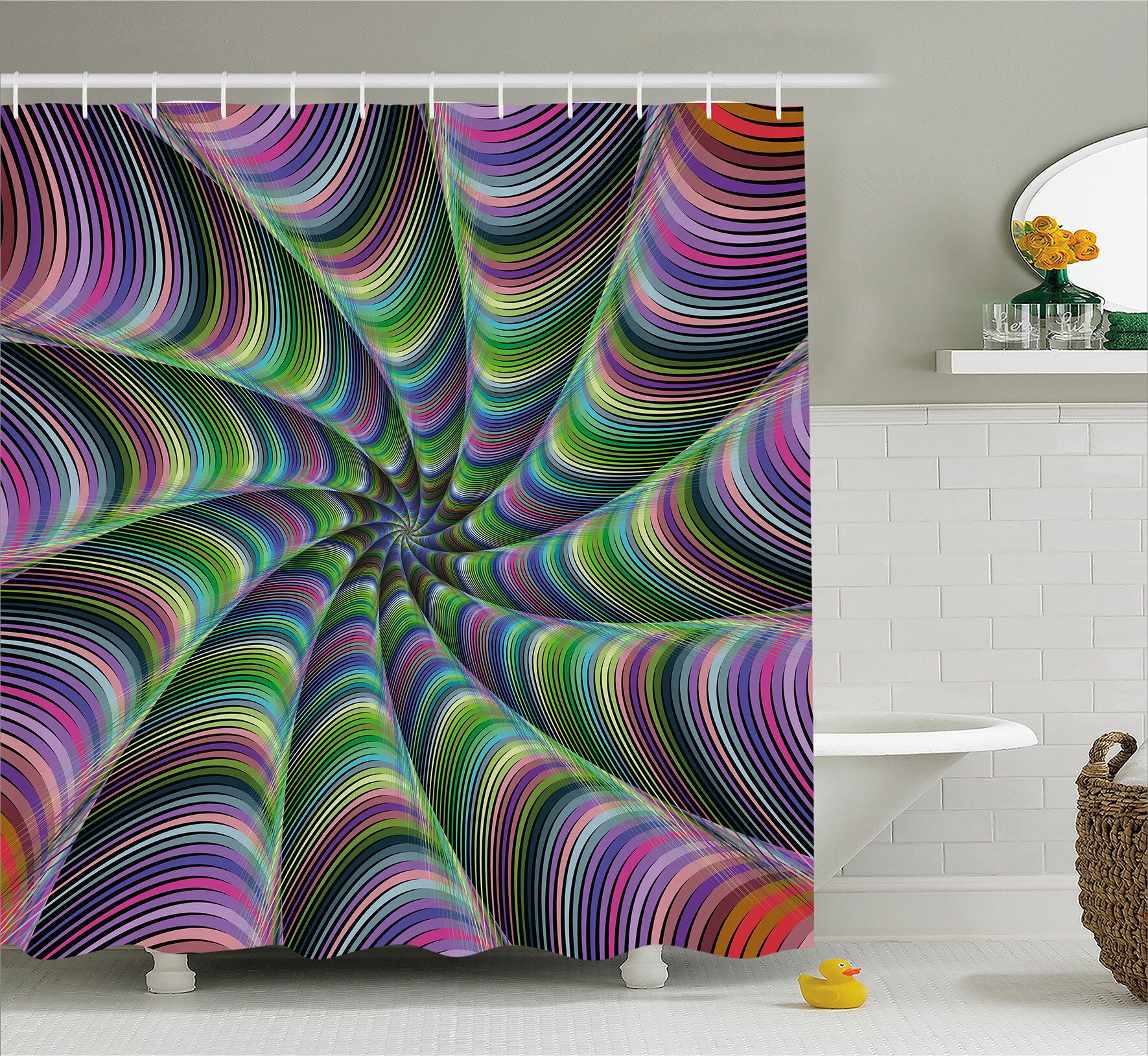 East Urban Home Tentacles Shower Curtain