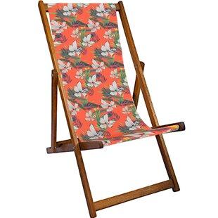 Ines Reclining Deck Chair by Lynton Garden