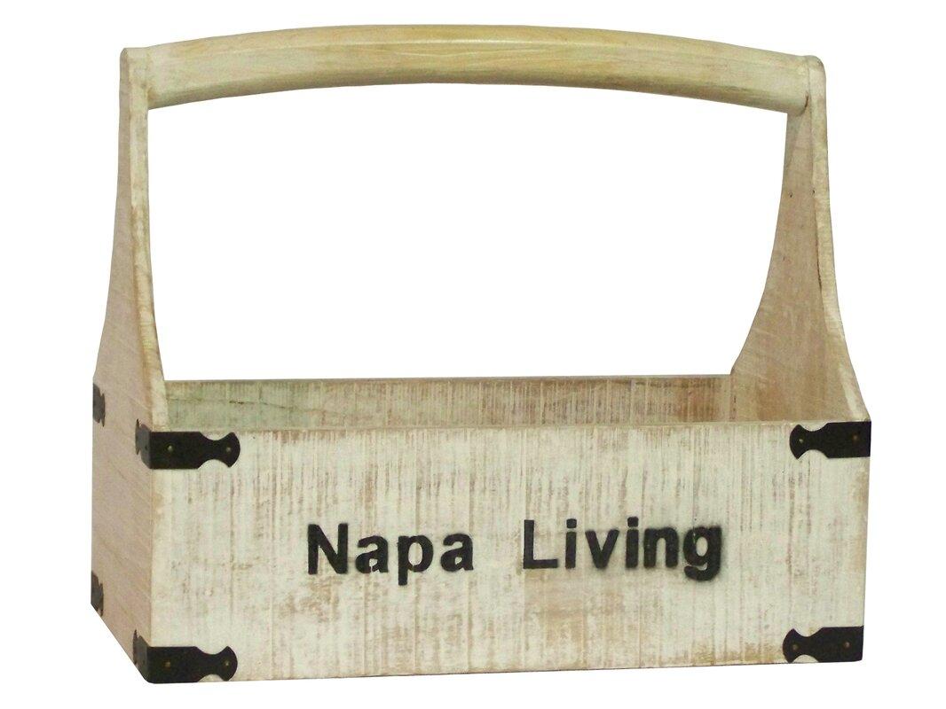 Napa Living Wooden Tool Box