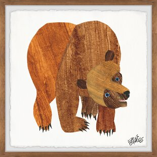 Kathleen 'Front Cover Brown Bear' Framed Art by Viv   Rae