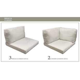 Belle Outdoor Replacement Cushion Set