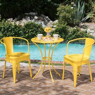 Bon Yellow Patio Bistro Sets Youu0027ll Love In 2019 | Wayfair