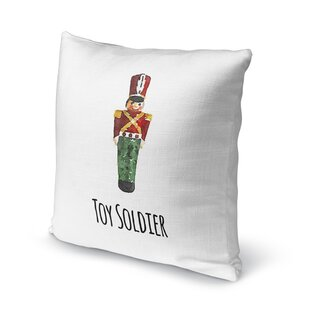 toy soldier throw pillow - Christmas Toy Soldiers