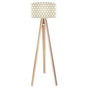 Shabby chic lamp wayfair paris chic 140cm tripod floor lamp aloadofball Choice Image