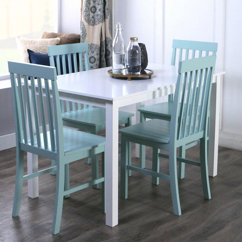 1cc257b7dc8f Beachcrest Home Cienna 5 Piece Dining Set   Reviews