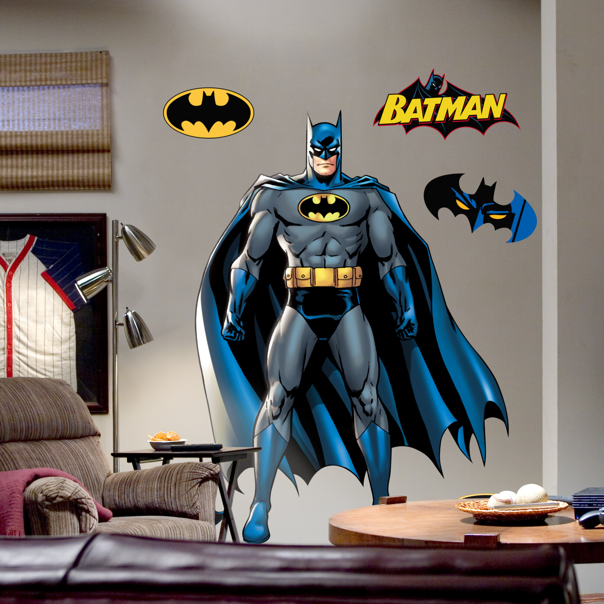 Fathead Super Heroes Batman Wall Decal U0026 Reviews | Wayfair