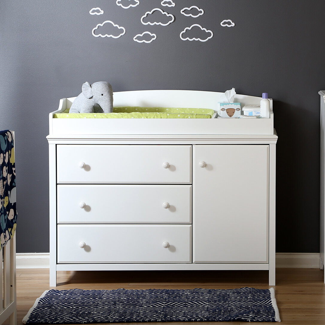 South Shore Cotton Candy Changing Table Dresser Reviews Wayfair