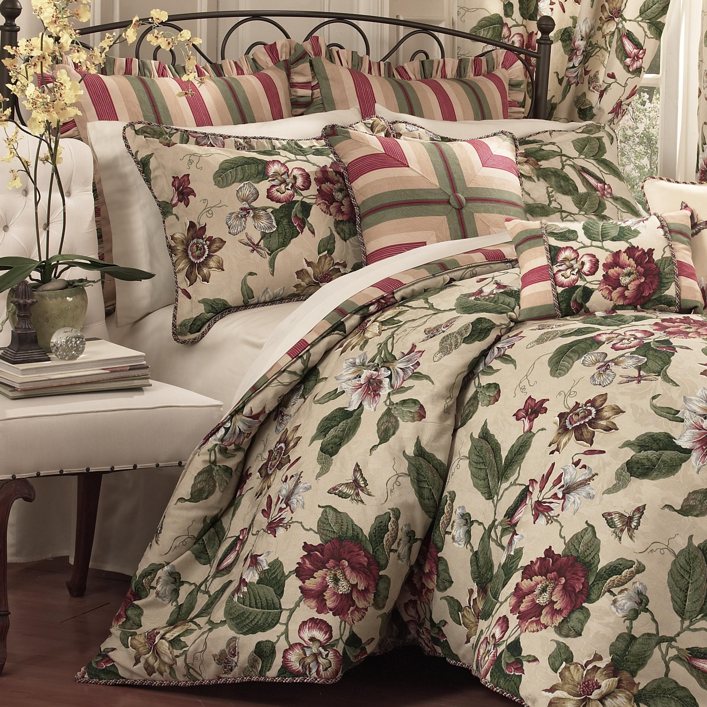 Waverly Laurel Springs 4 Piece Reversible Comforter Set & Reviews ...