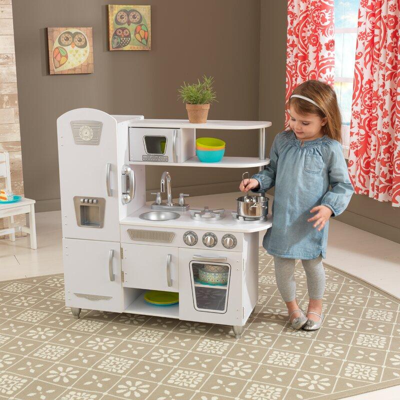 kidkraft vintage kitchen set & reviews | wayfair