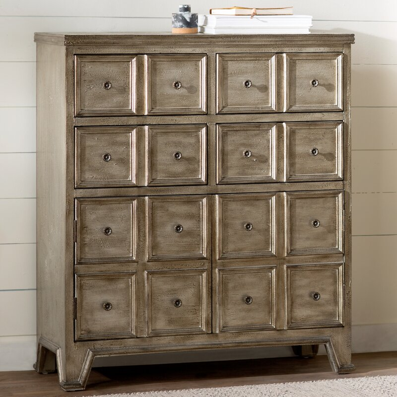 Exceptional Ila 4 Drawer 2 Door Accent Chest