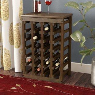 Garris 24 Bottle Floor Wine Bottle Rack