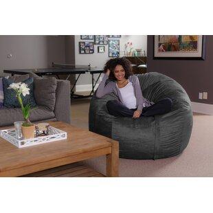 Grey Bean Bag Chairs You\'ll Love in 2019 | Wayfair